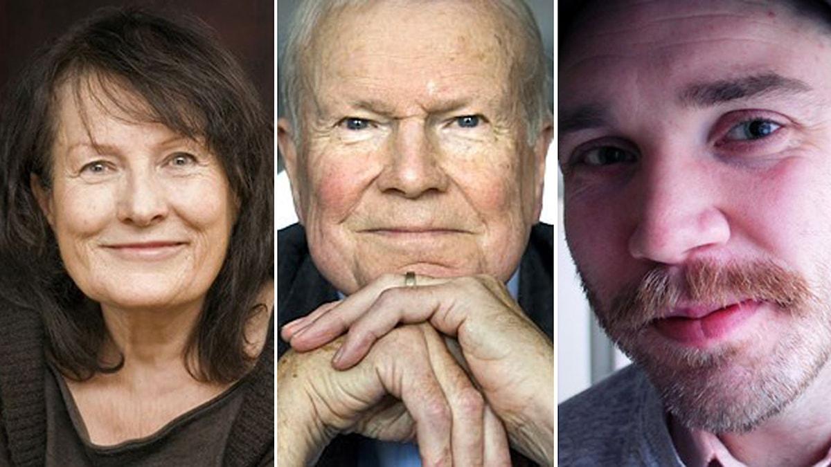 Sigrid Combüchen, Kjell Espmark, Kristofer Folkhammar. Foto: Andreas Rasmusson/Scanpix/Robert Jacobsson