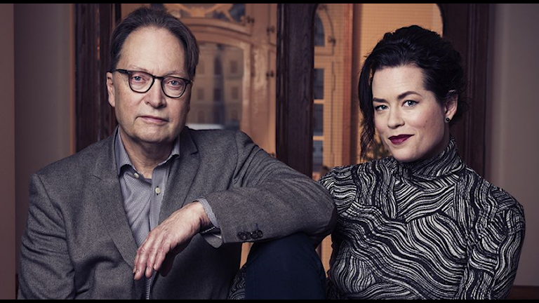 """""""Liv och Horace i Europa - En kulturresa med Liv Strömquist och Horace Engdahl"""". Foto: Pressbild/SVT"""