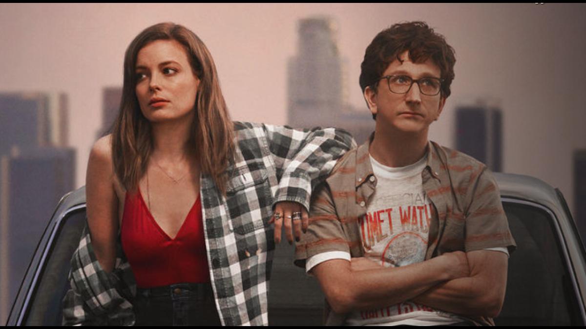 "Gillian Jacobs och Paul Rust i Judd Apatwos Netflix-serie ""Love"". Foto: Pressbild"