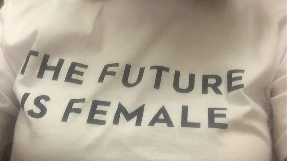 Bästsäljande t-shirt. Foto: Lisa Bergström