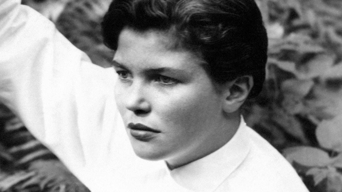 Majken Johansson 1952. Foto: BilderiSyd