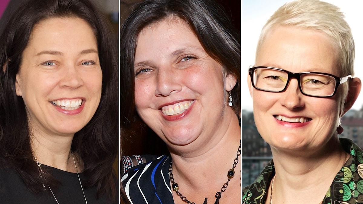 Kulturjournalisterna Marie Lundström och Maria G Francke diskuterar succéförfattaren Jenny Offill.