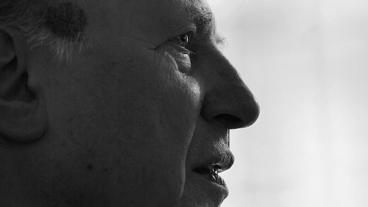 Nobelpristagaren Imre Kertesz. Foto: Jonas Ekströmer