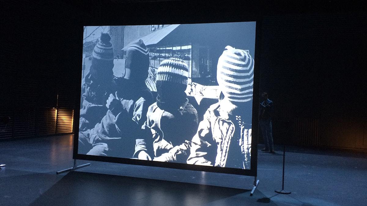 "Bild från ""The Misfits"". Foto: Mia Gerdin/Sveriges Radio."