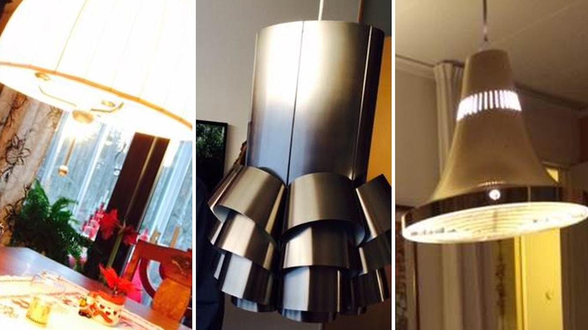 Lampor av Hans Agne Jakobsson. Foto: Gunnar Bolin/SR