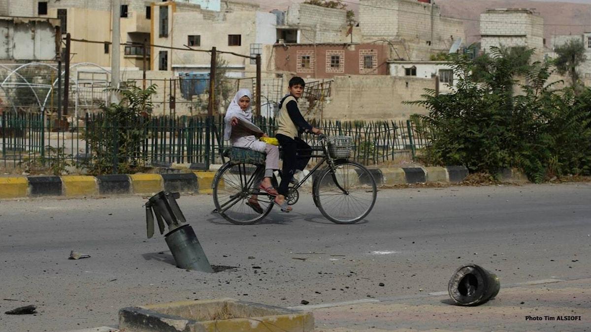 En bild från kollektivet Abou Naddara. Foto: Tim Alsiofi