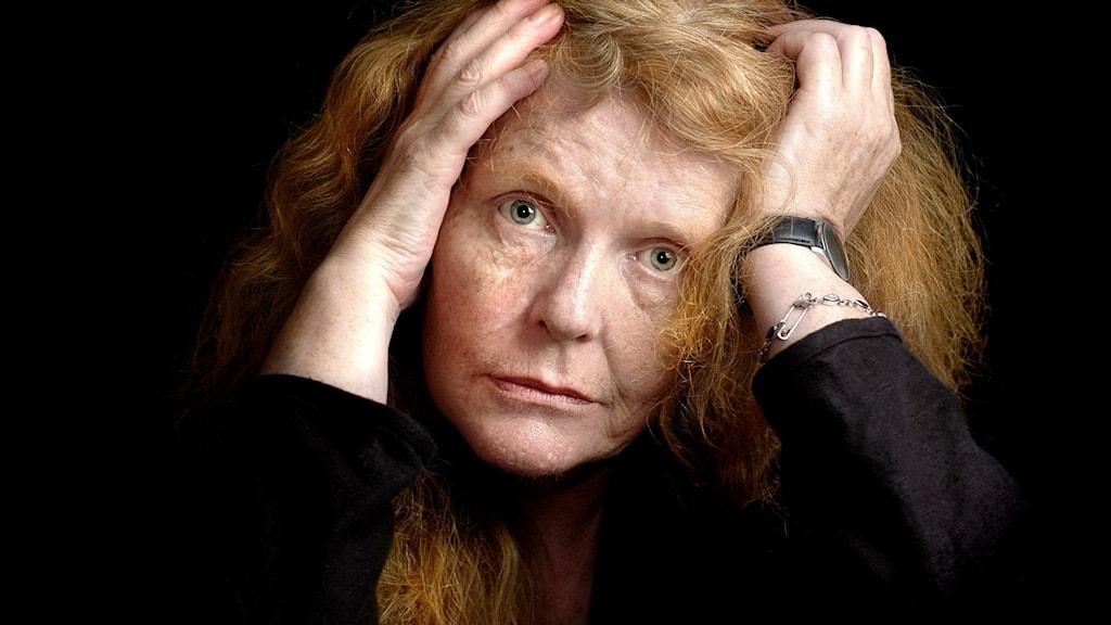Kristina Lugn, författare och dramatiker, 2005.
