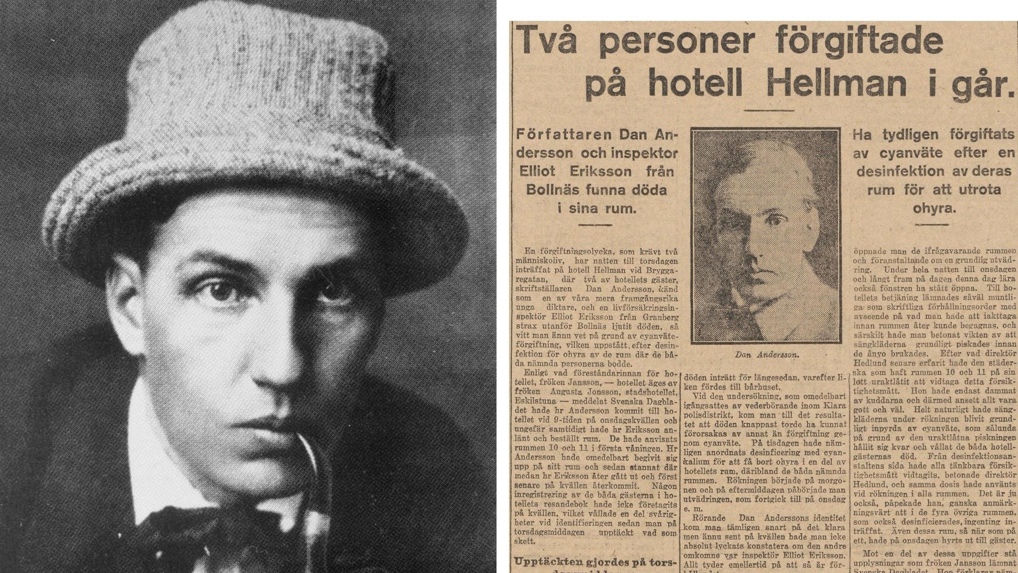 Dan Andersson 100 år senare – natur, ångest och en svart fiol