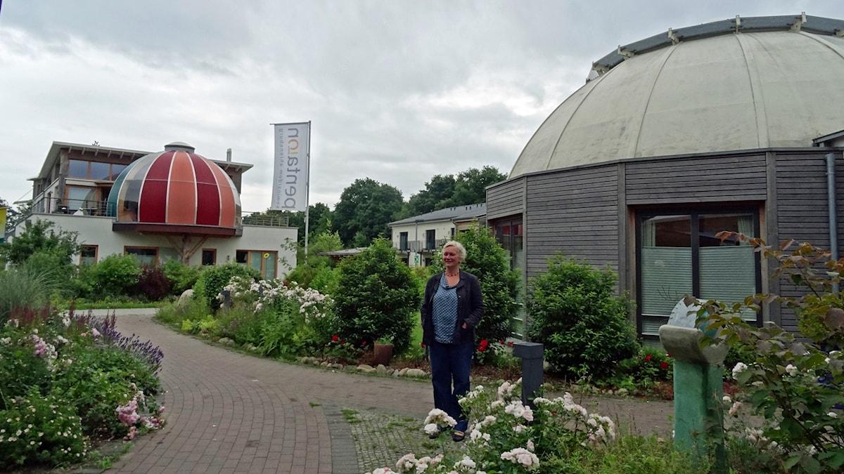 Astrid Korth, byggemenskapen Wilde Rosen i Arensburg.