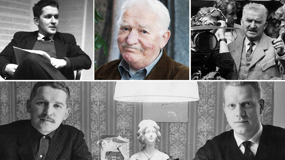 Hans Alfredson genom åren. Foto: SVT Bild / SR / TT / SVT Bild.