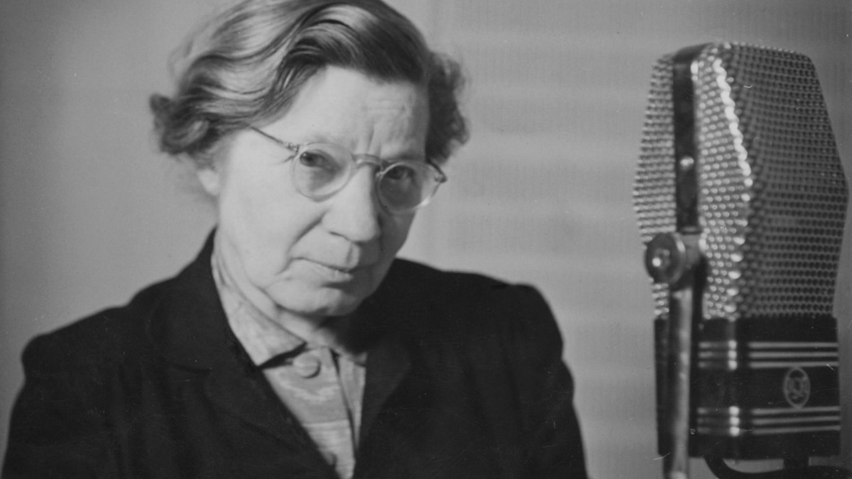 Elin Wägner 1942.