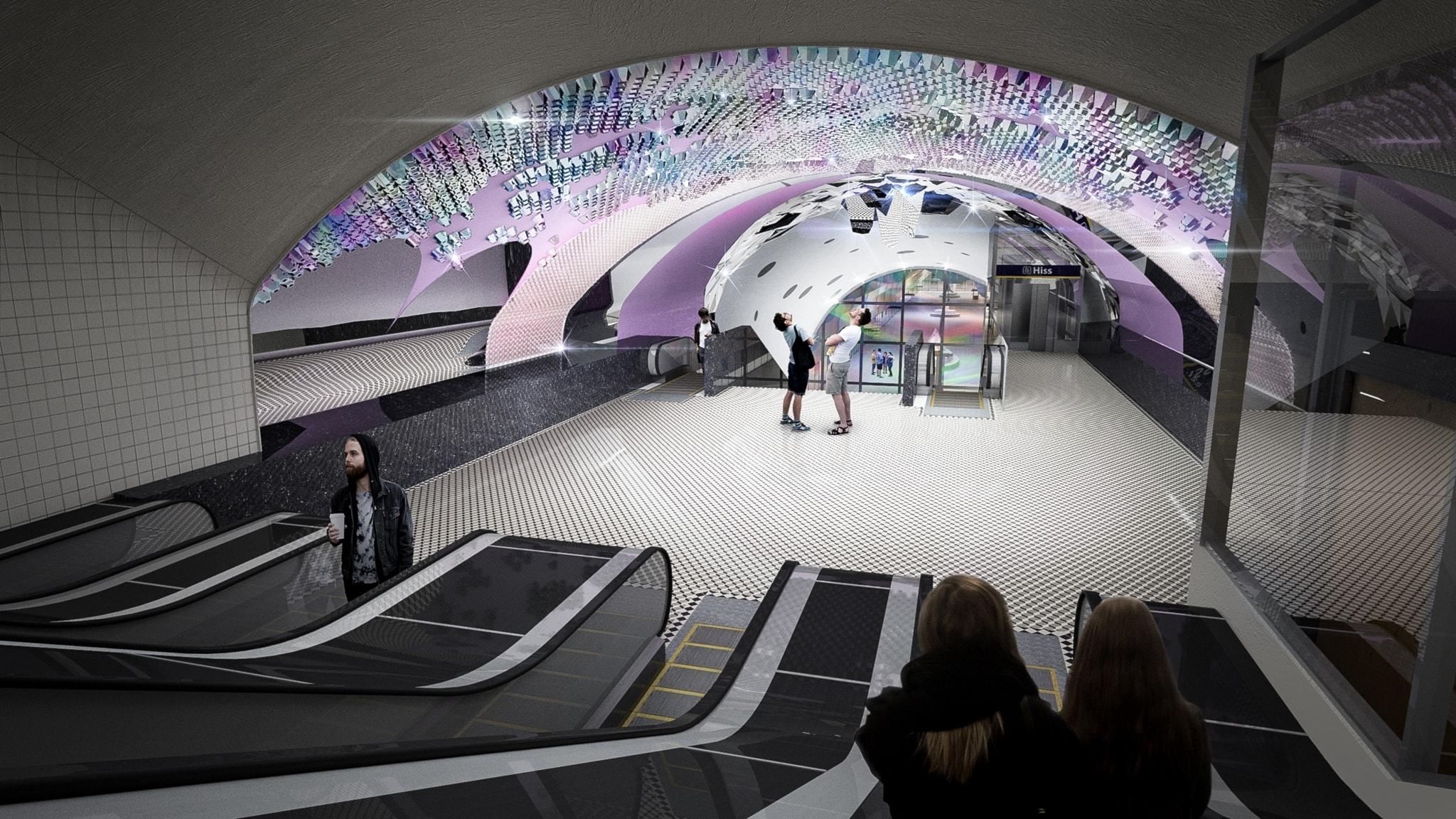 Besatt av brukssamhällen och rosa - möt glaskonstnären Åsa Jungnelius