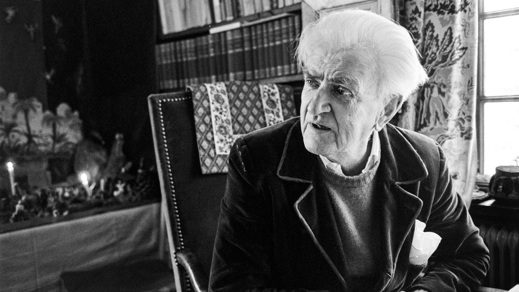 Inte ett ord i onödan – om författaren Tage Aurell i Mangskog