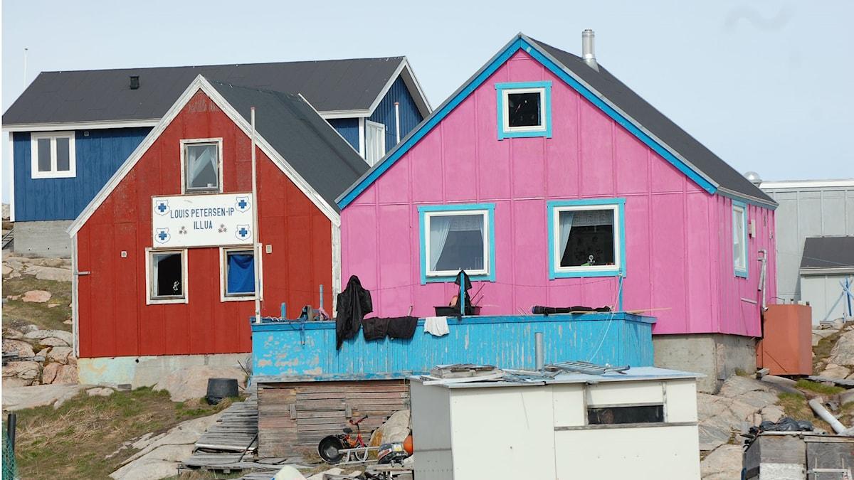Färgchock Ilulissat