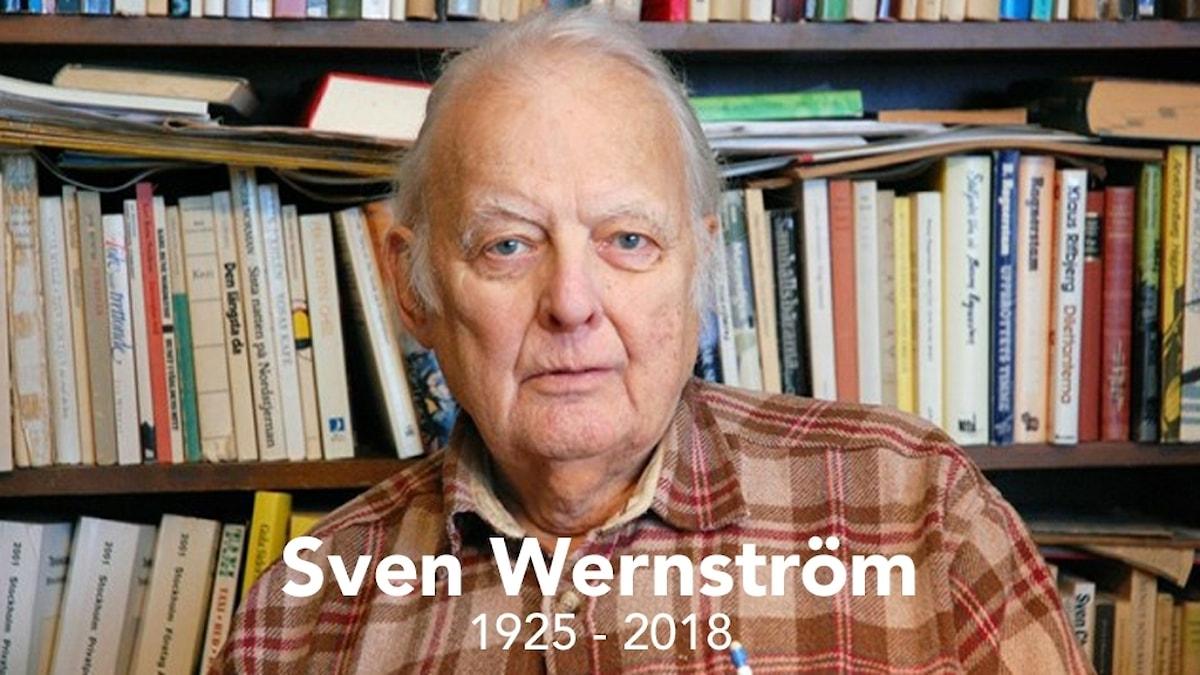 Författaren Sven Wenström.