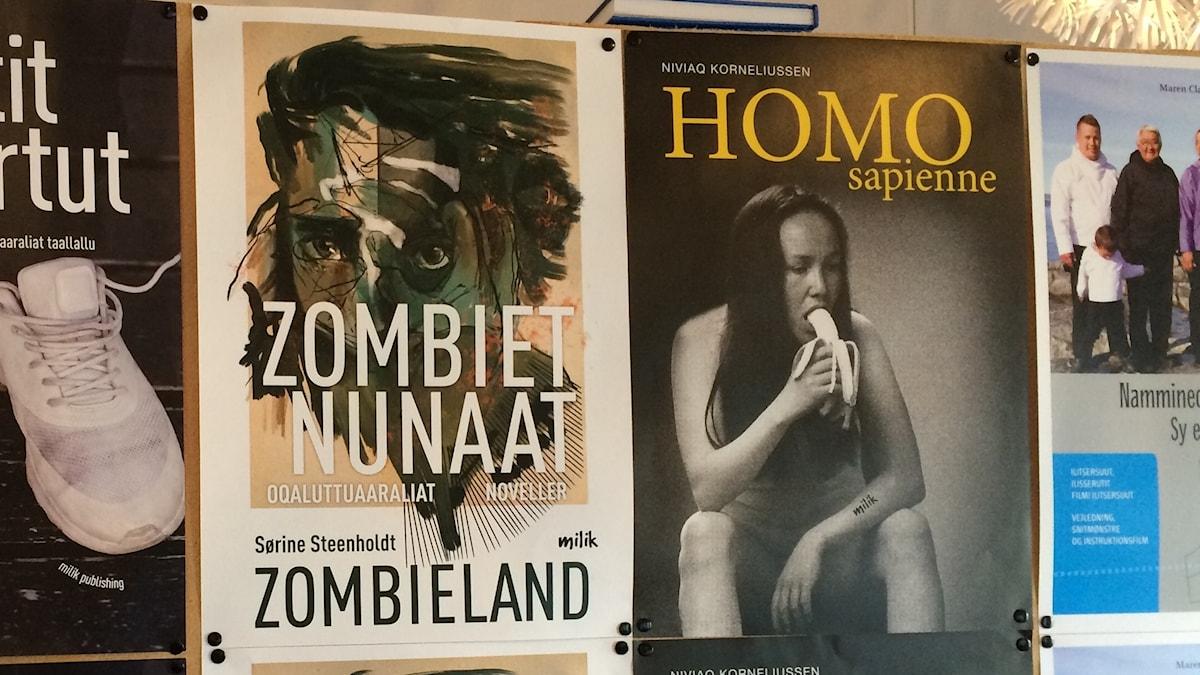 Omslagen till Zombieland och HOMO Sapienne