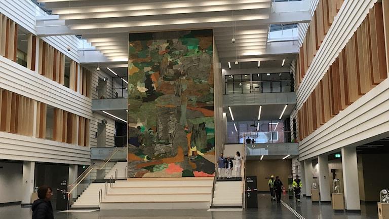 Konsten på utskällda NKS är Sveriges största utsmyckning