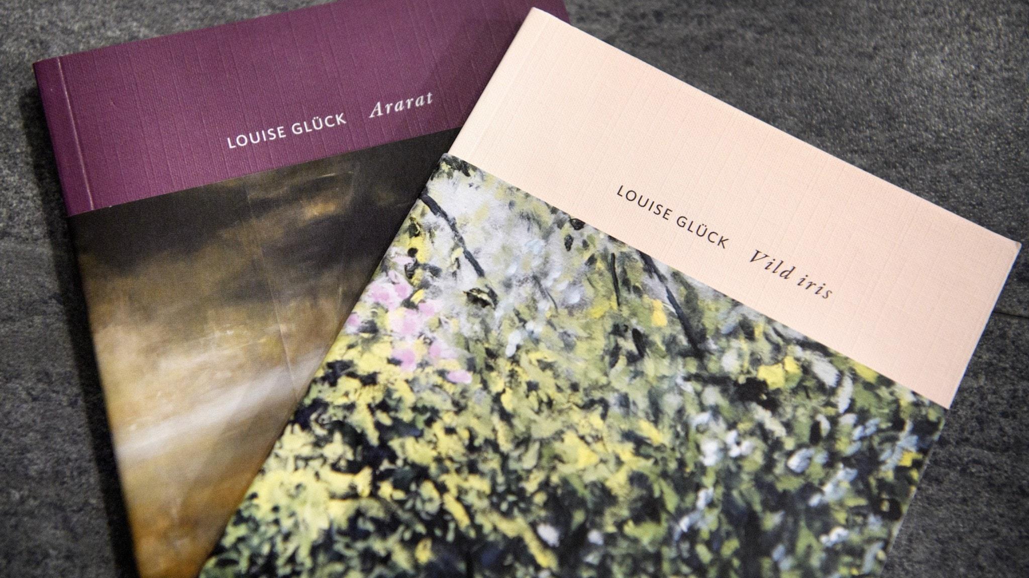 Lyriksamlingar av Nobelpristagaren Louise Glück.