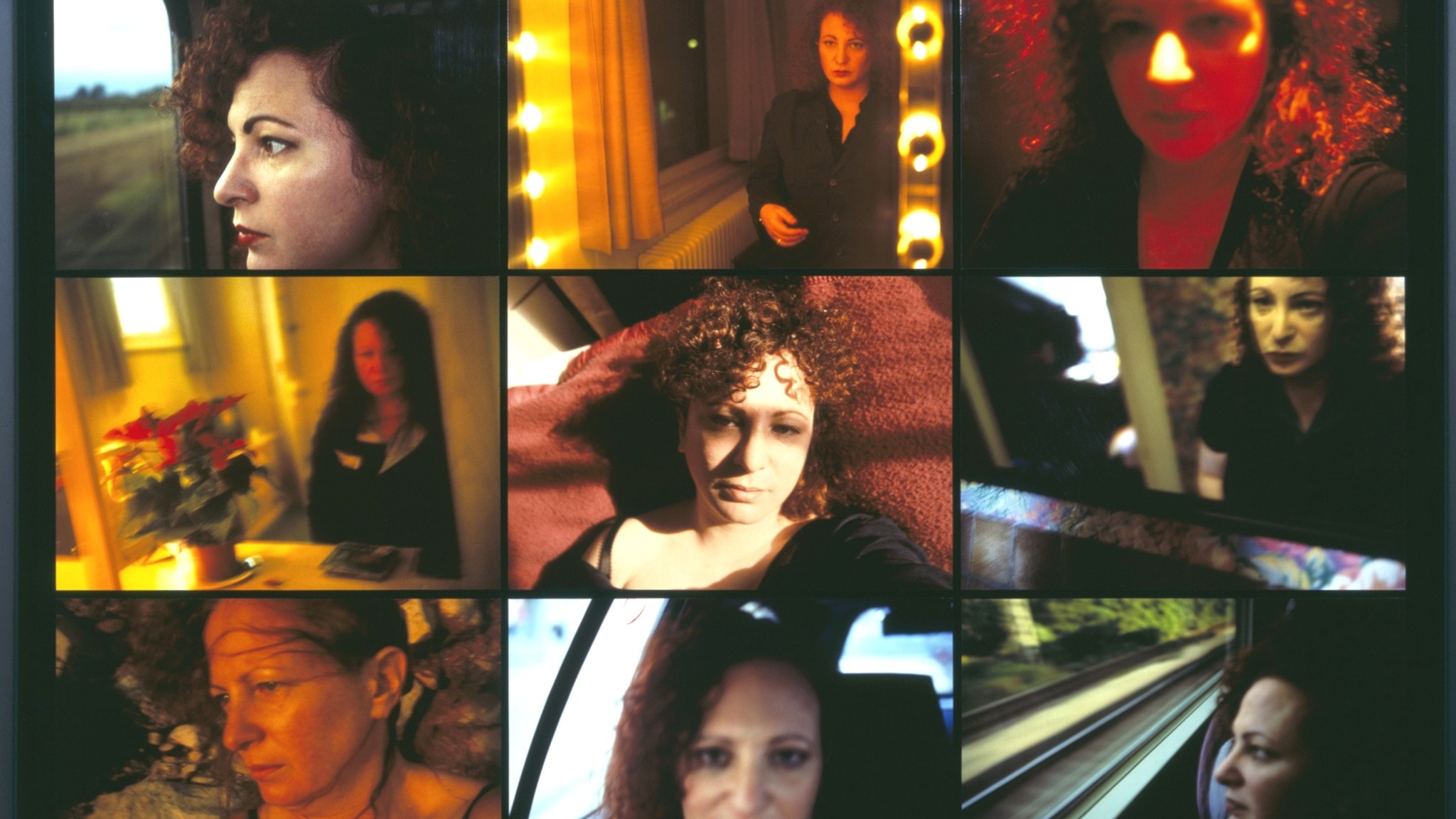 Verk av  Nan Goldin Self-portrait Inside/Outside 2006. Hasselbladpristagare 2007