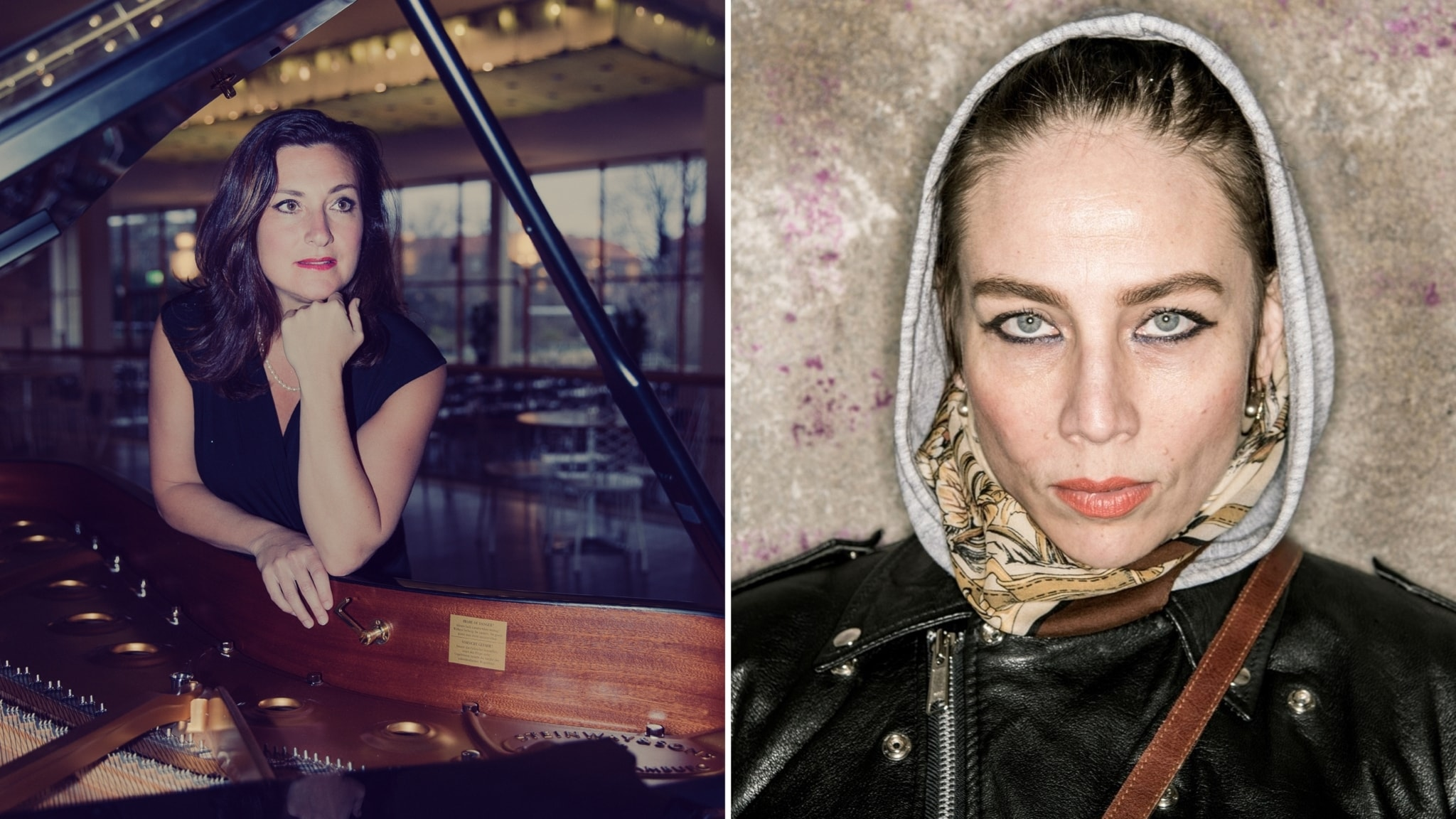 Jenny Wilson och Francisca Skoogh om musik och terapi