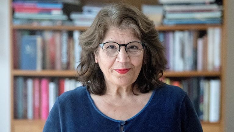Jila Mossaed, ledamot i Svenska Akademien.