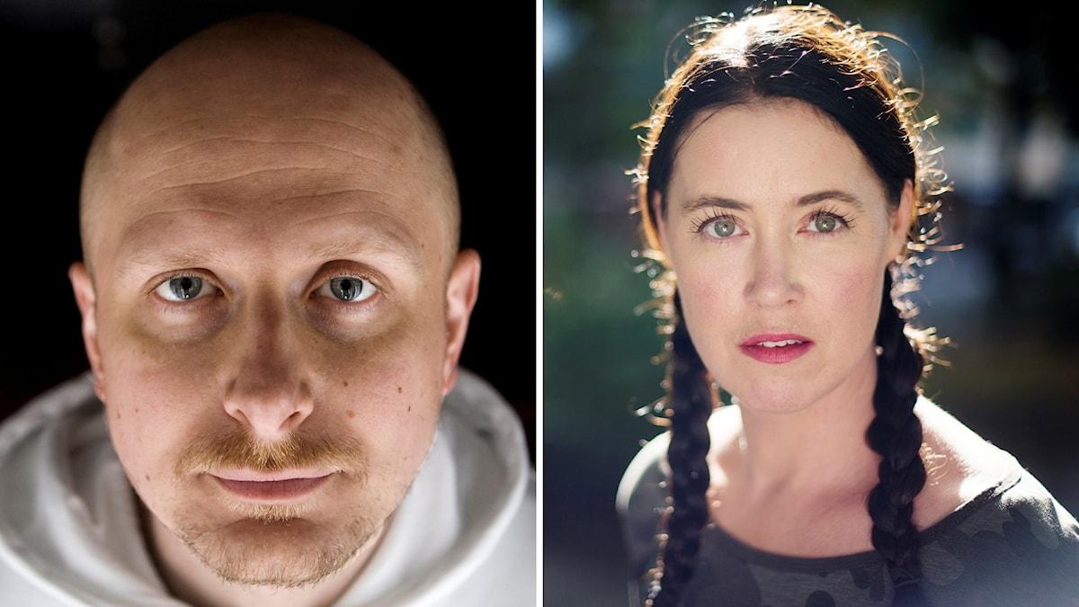 Hugo Hansén och Linda Boström Knausgård.