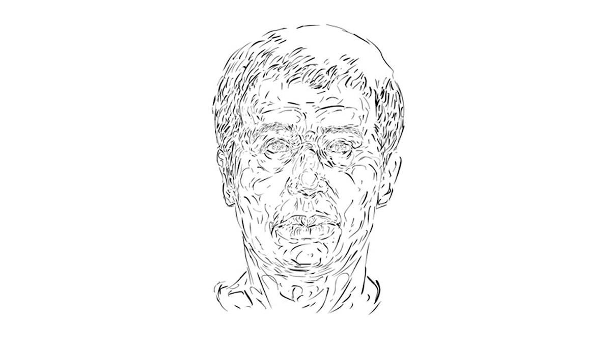 """Face down"", Mohammad Ali."