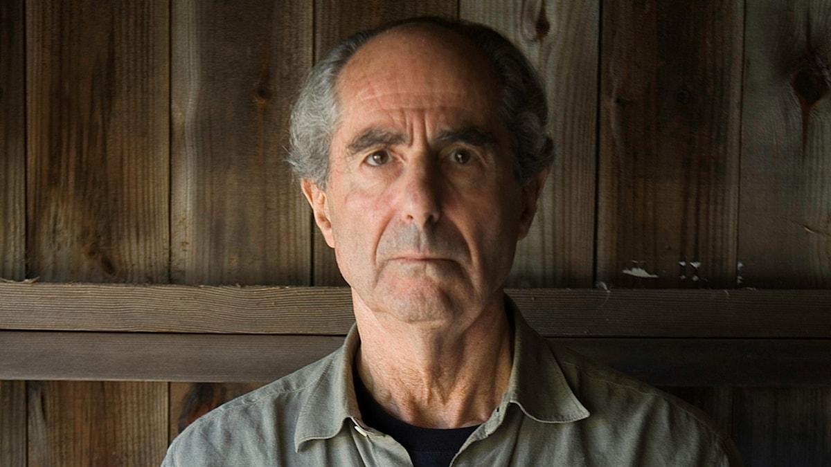 Den amerikanske författare Philip Roth.