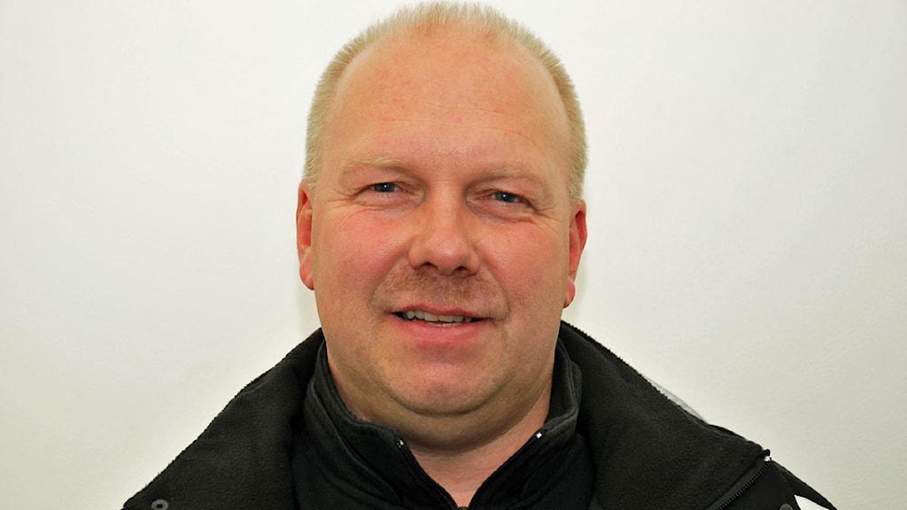 Lasse Lundbäck. Foto: André Pettersson/Sveriges Radio.
