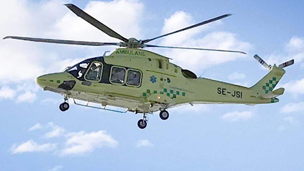 Ambulanshelikopter Östersund Region Jämtland Härjedalen2
