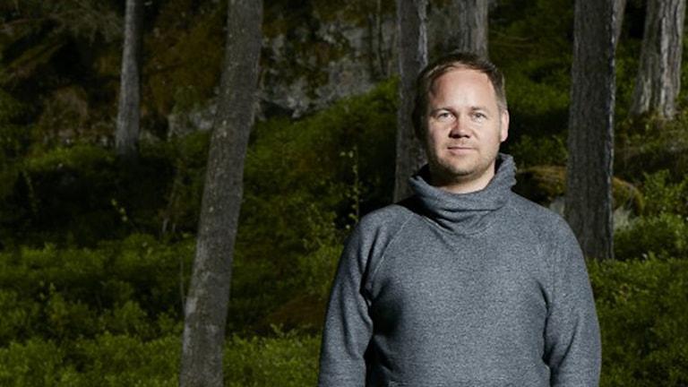 Joakim Rindå, regissör för pjäsen Landet inuti.