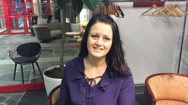 Erika Andersson är bröllopskoordinator i Östersund.