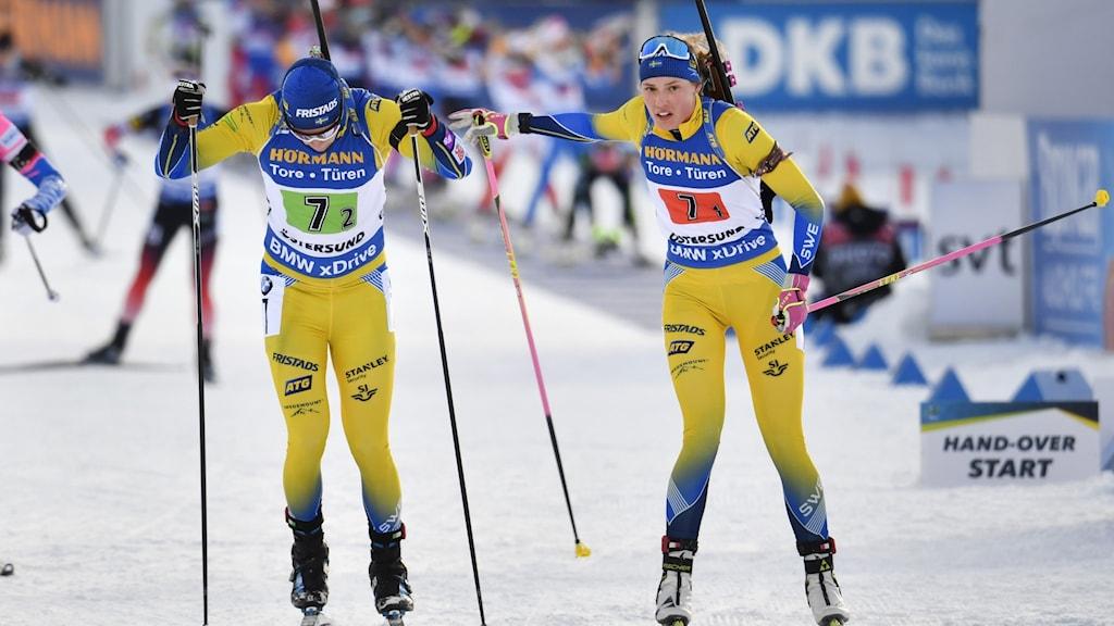 Sveriges Hanna Öberg växlar till Sebastian Samuelsson