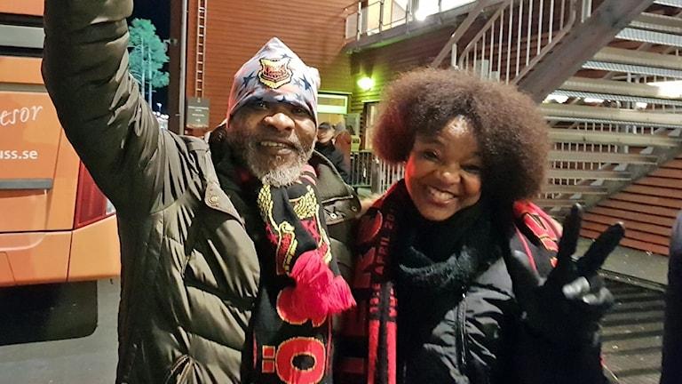 Pappa Ndongala och mamma Kiadila Sema