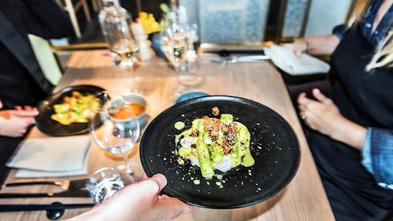 STOCKHOLM 2017-05-15  Restaurang TAK vid Brunkebergstorg    Foto: Tomas Oneborg / SvD / TT / Kod: 30142  ** OUT DN, Dagens Industri (även arkiv), Metro och Expressen **