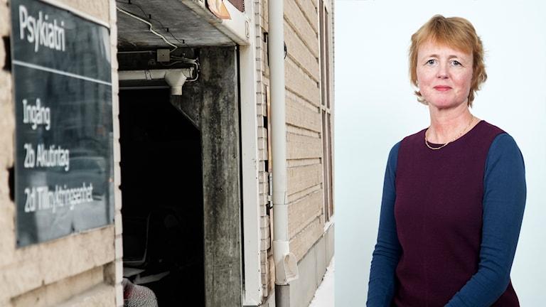 Lisbet Gibson hälso- och sjukvårdsdirektör Psykiatri Östersunds sjukhus Region Jämtland Härjedalen