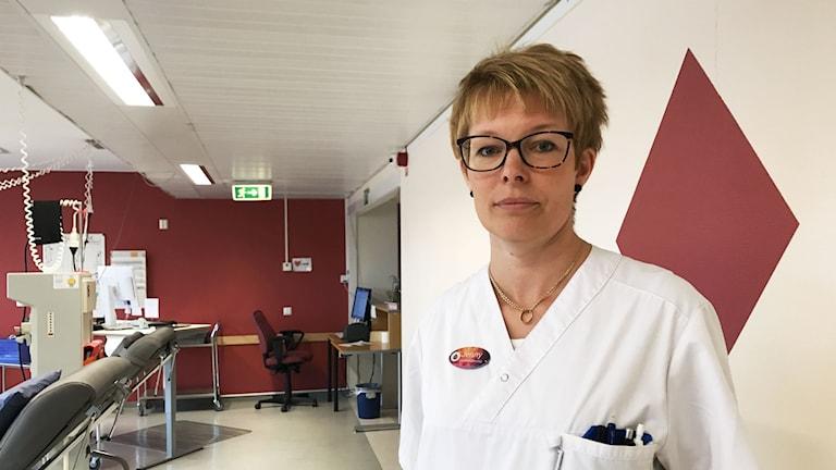Jenny Wiklund Östersunds sjukhus.