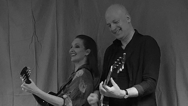 Tina Moe och Erik Bernholm
