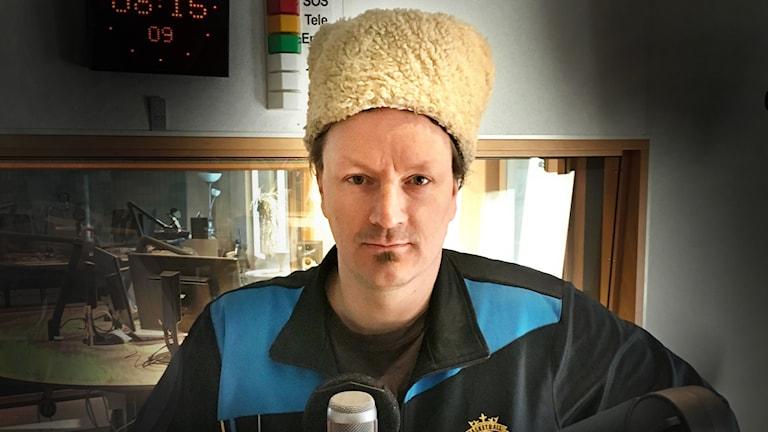 """Torbjörn """"P-Danjelsa"""" Persson gör reggaemusik med text på jamtska."""