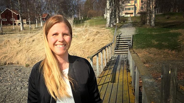 Önskegästen Anna Jonsson är en av länets alla drivna entreprenörer.