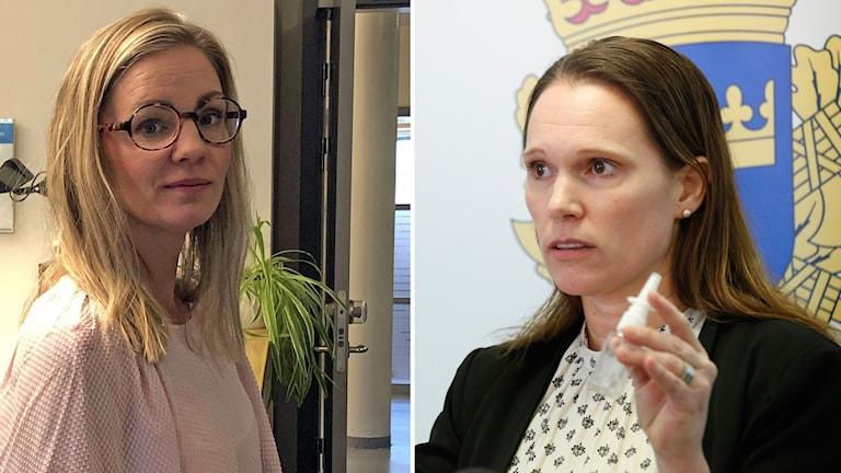 Sara Wall och Åsa Torlöf Fentanylanaloger