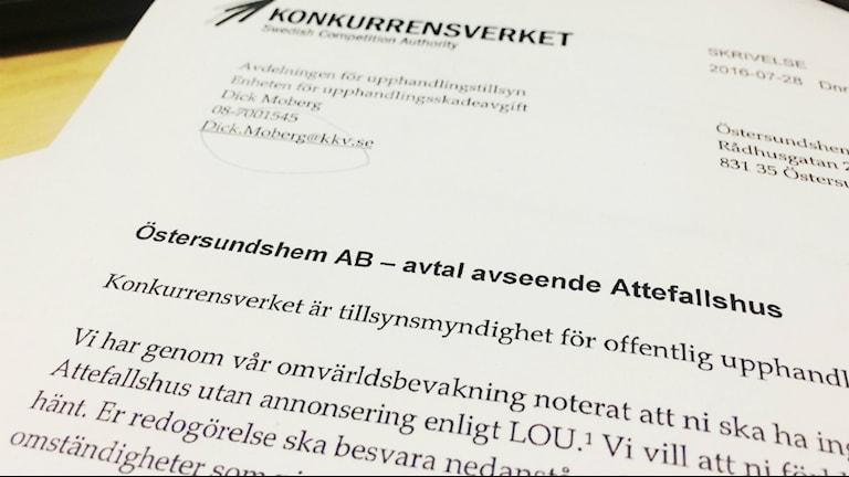 Östersundshem Konkurrensverket Attefallshus