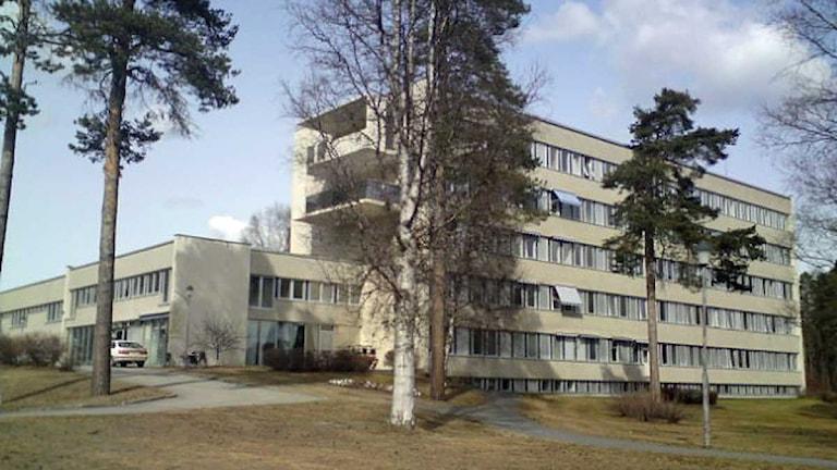 Backe sjukhus. Foto: Ann-Louise Rönestål Ek/SR Jämtland