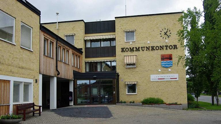 Strömsunds kommunhus. Foto: Annelie Lanner/SR Jämtland
