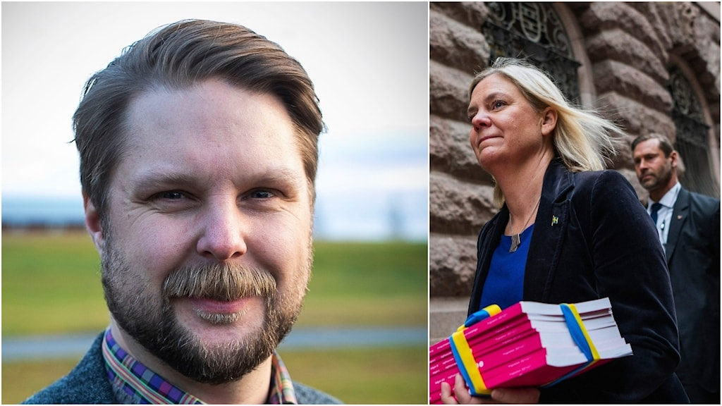 Robert Hamberg (M) & Magdalena Andersson (S).