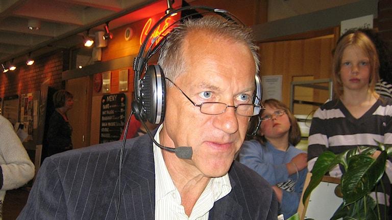 Bo Oscarsson. Foto: Sveriges Radio.