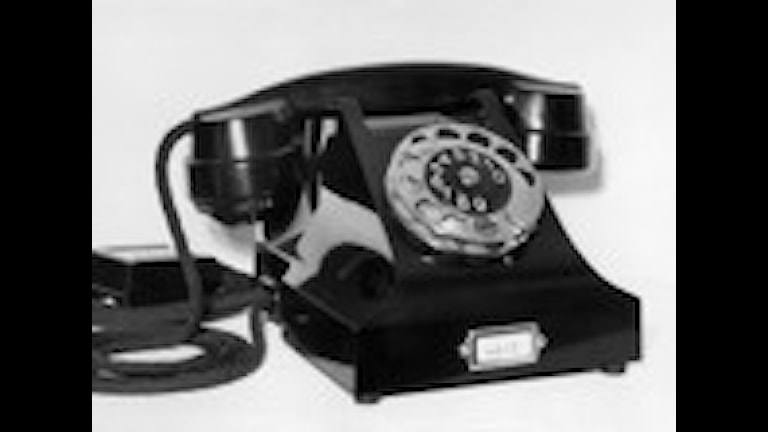 telefon. Foto: SVT Bild