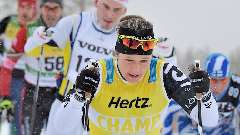 SÄLEN-MORA 2018-03-04 Britta Johansson Norgren under Vasaloppet 2018. Foto Ulf Palm / TT