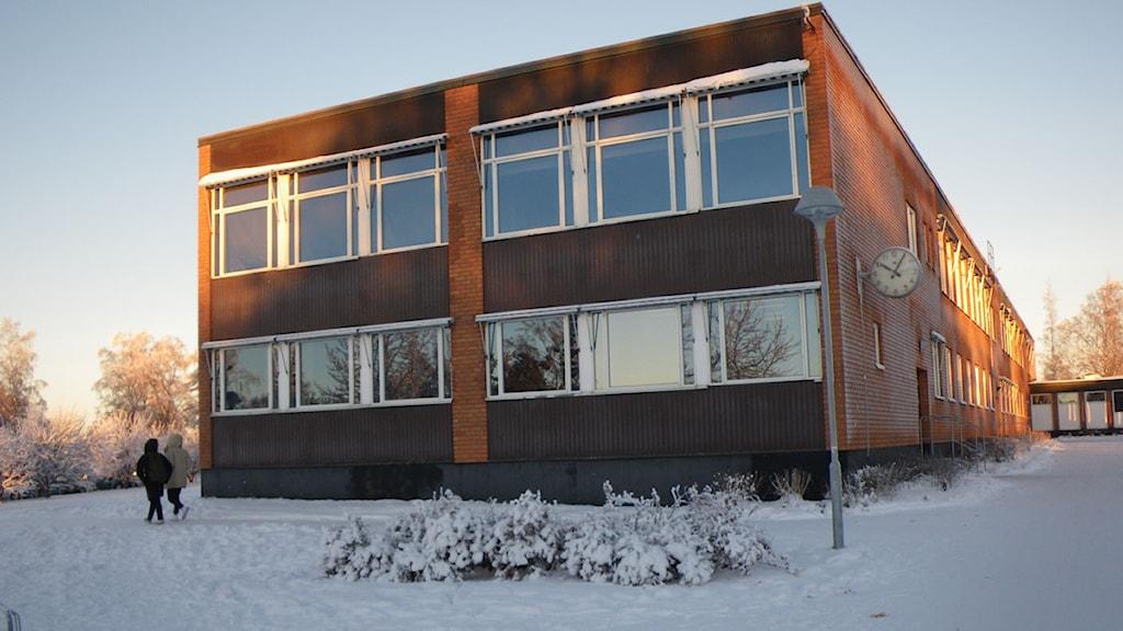 Parkskolan i Östersund. Foto: Ann-Louise Rönestål Ek/SR.