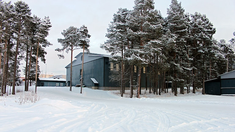 Vattenverket i Minnesgärde. Foto: Janne Mårdberg/Sveriges Radio